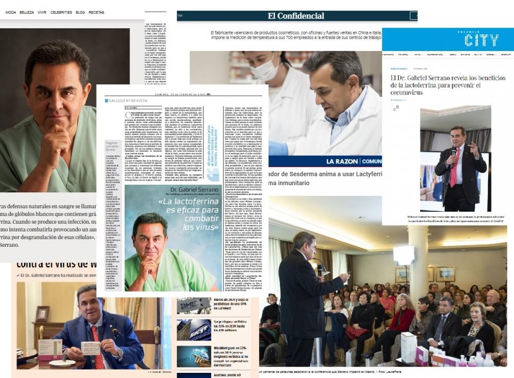 Doktor Serrano w mediach