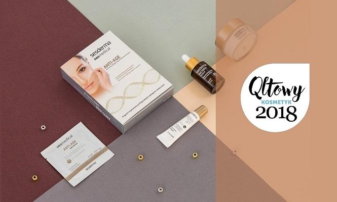 Nagroda Qltowy kosmetyk dla linii Sesmedical