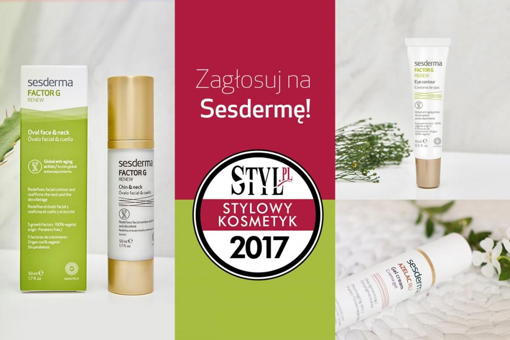 """Pomóż nam zdobyć tytuł """"Stylowy Kosmetyk 2017""""!"""