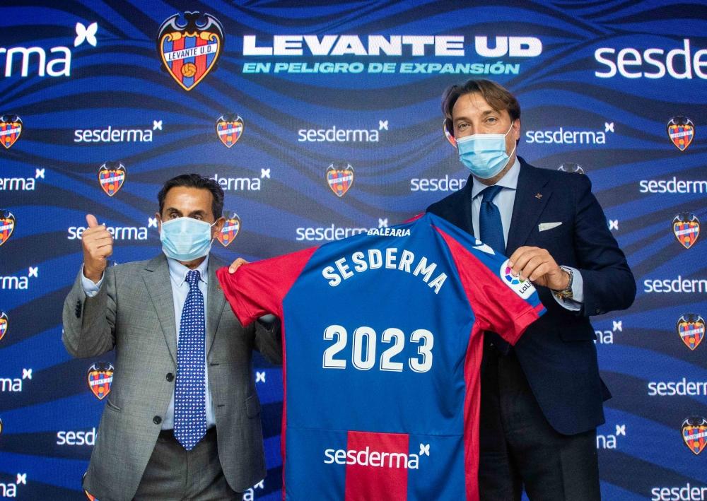 Sesderma sponsorem Levante UD