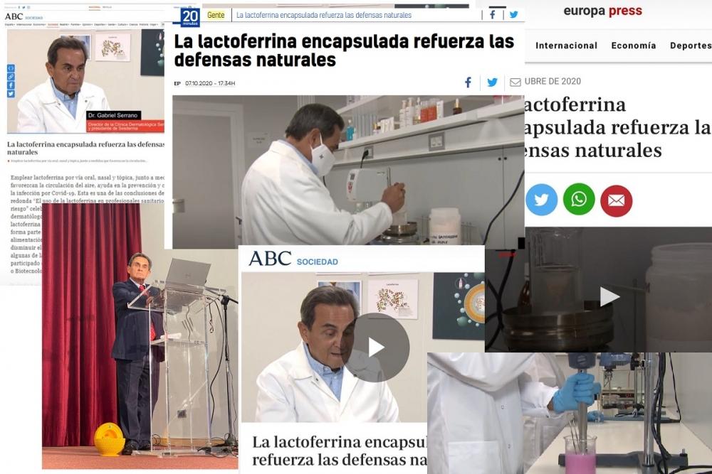 Media o zaletach stosowania enkapsulowanej laktoferyny