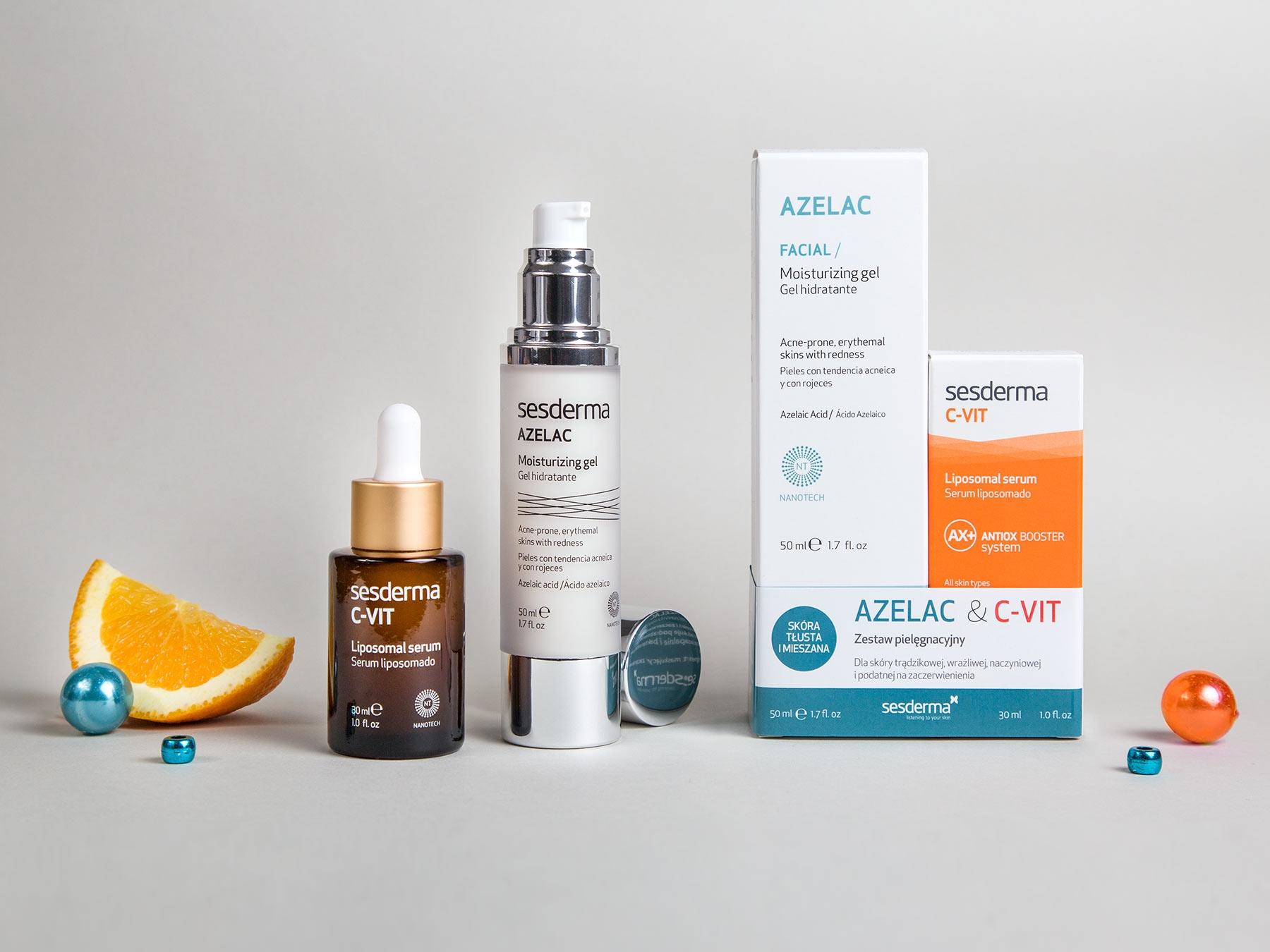 AZELAC Żel + C-VIT Serum 50 ml + 30 ml
