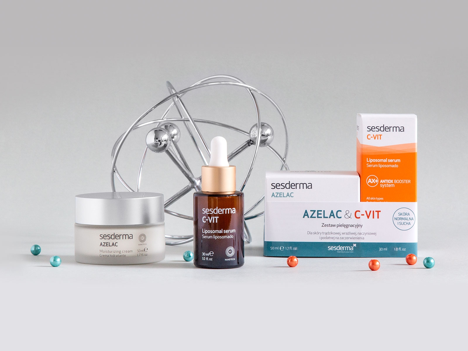 C-VIT Serum + AZELAC Krem 30 ml + 50 ml