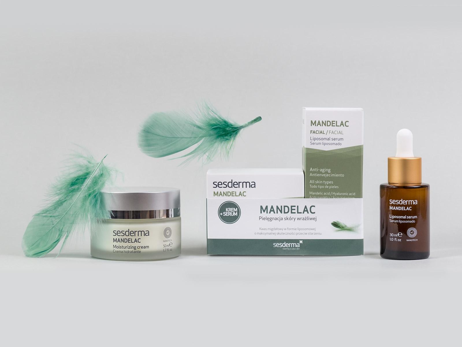 MANDELAC krem + MANDELAC serum 50 ml + 30 ml