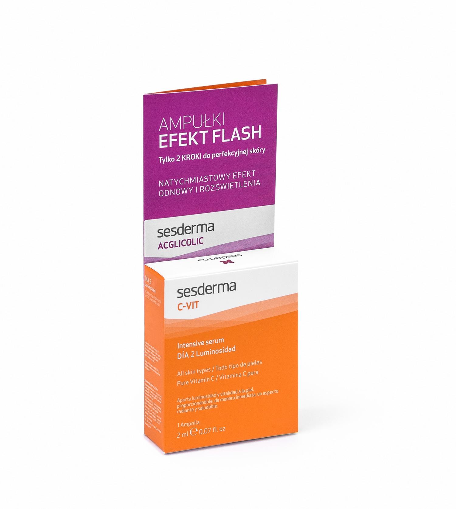 EFEKT FLASH Acglicolic + C-VIT 12%