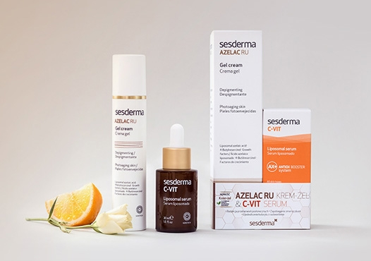 Azelac RU Krem-żel (50 ml) + C-VIT Serum (30 ml)