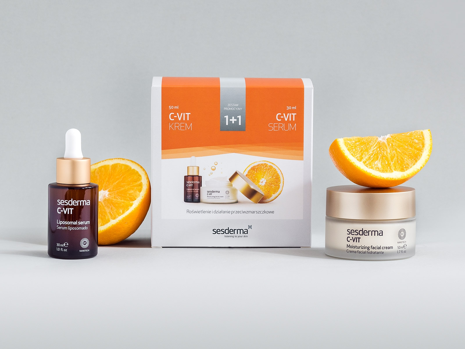 C-VIT KREM 50 ml + SERUM 30 ml